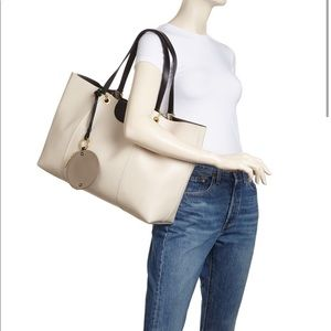 See By Chloe Marty Tote in Cement Beige & Gold